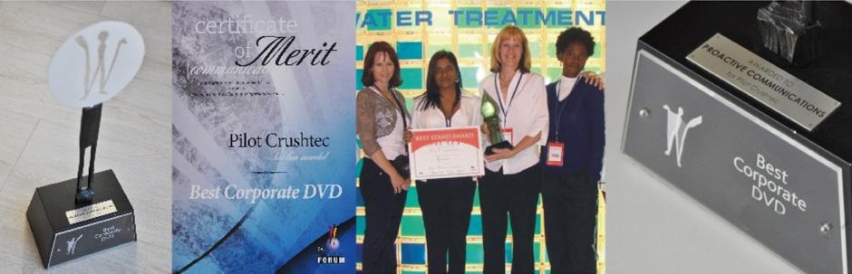 Certificate of merit & trophy