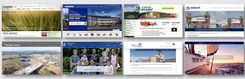 Custom websites banner