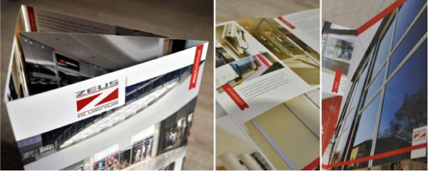 corporate z-fold brochure