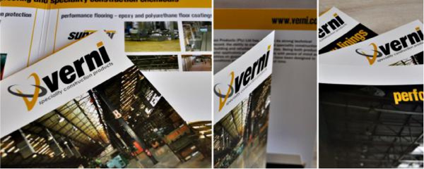 product and corporate brochures