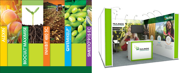 Nampo exhibition stand