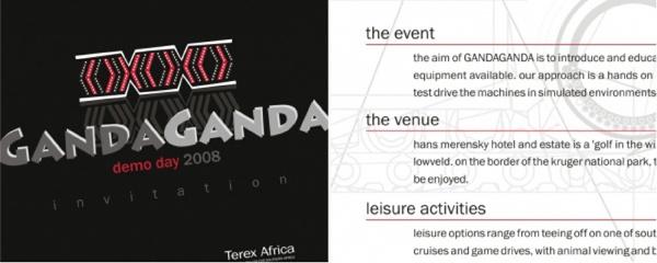 ganda-ganda demo day invitation