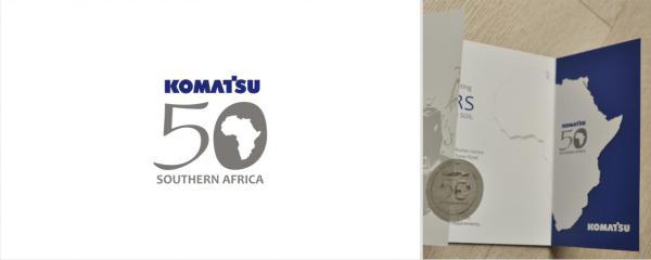 50 year anniversary logo design