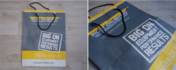 promotional bag redesign and production