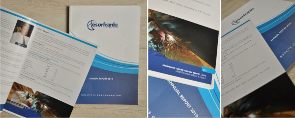 annual report design and print