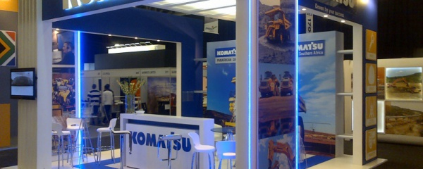 Mining Indaba 2014 stand design and construction