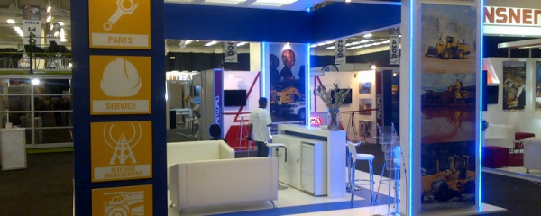 Mining Indaba stand design and construction