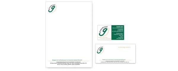 Letterhead, business card and other stationery designletterhead, business card and other stationery design
