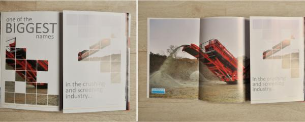 four page launch print ad campaign