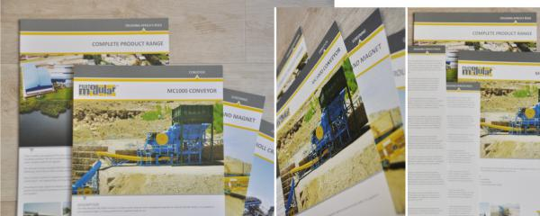 product brochure design and print
